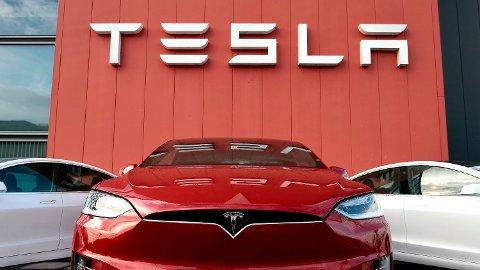 Tesla får tøff konkurranse av andre elbilmodeller. (Photo by JOHN THYS / AFP) Foto: John Thys (AFP)