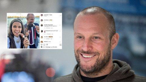 NY KJÆRESTE: Aksel Lund Svindal bekrefter på 17. mai at han har funnet kjærligheten på ny.