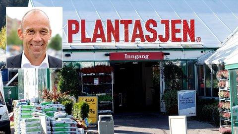 SLUTTER: Åtte måneder som leder i Plantasjen var nok, synes Olav Thorstad. Foto: Plantasjen