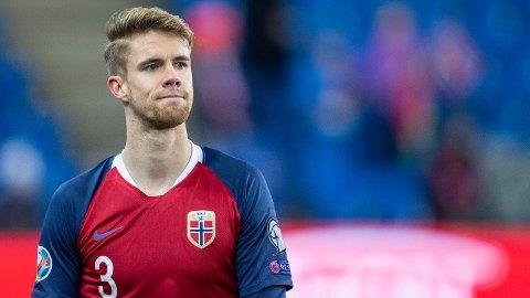 NY AGENT: Kristoffer Ajer har ikke Tore Pedersen som agent lenger. Foto: Trond Reidar Teigen (NTB scanpix)