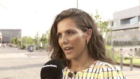 """LEI """"BESØK"""": Jørgine """"Funkygine"""" Massa Vasstrand, forteller at etter at hun sa i fra om de frekke besøkene, så har det blitt færre av dem."""