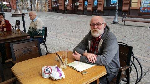 BRYTER MED STIGMA: Alf Steinar Nekstad bryter med en velkjent stigma når han inrømmer at han er ensom. Han håper det kan sette lys på situasjonen for ensomme eldre.