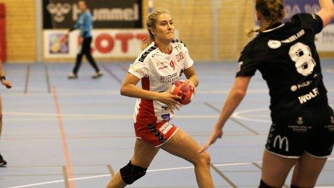TOPPSCORER: Frida Haug Hoel scoret syv mål i seriepremieren mot Sola onsdag kveld.
