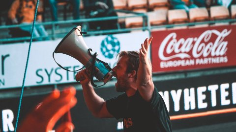 Klar for debatt: Leder Tony Johansen i Kanari-Fansen tror de fleste supporterne vil gå mot innstillingen til klubbstyret og dermed ønske en norsk boikott av VM i Qatar neste sommer.