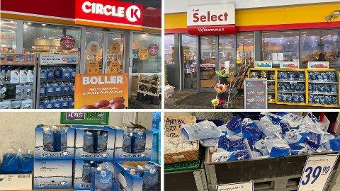 STORE FORSKJELLER: Både Circle K, Shell, Kiwi og Rema 1000 selger spylervæske, men prisene kan variere mye. Foto: Halvor Ripegutu