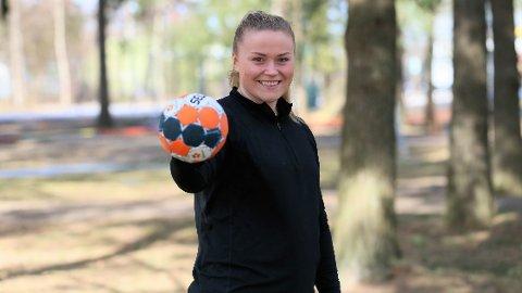 KLAR FOR NYE UTFORDRINGER: Etter 3 år i Fredrikstad vender Maja Muri hjem til Romerike neste sesong.