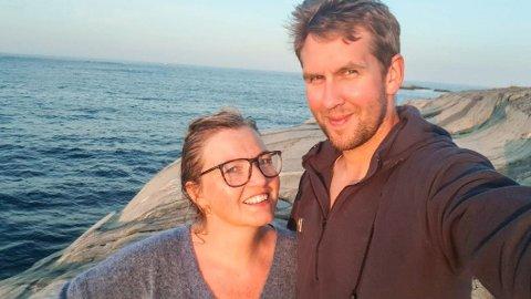 KNUST: Kristian Løvlie (34) og samboeren Siri Lausund Inderberg (39) fikk sitt tredje barn under en måned før han ble drept. Foto: Privat