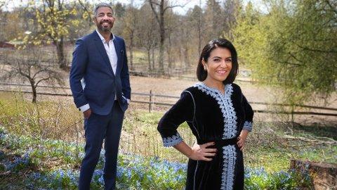 Klar for id-fest: Det blir id-fest i hjertet av Groruddalen i Oslo når Rima Iraki og Yousef Hadaoui lager høytidsstemning på Tveten gård under årets «Festen etter fasten» fredag 14. mai.