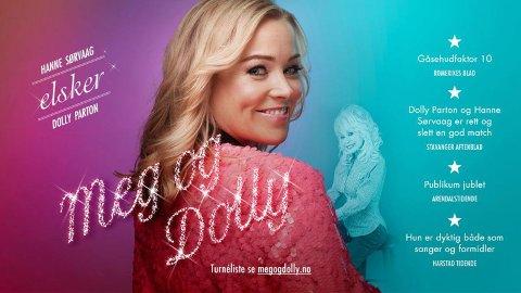 """Norgesturné med """"Meg og Dolly"""""""