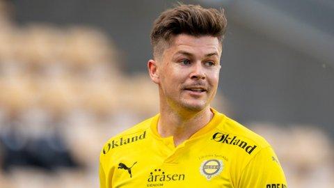 BLIR TV-EKSPERT: Pål André Helland spiller til daglig Eliteserie-fotball for Lillestrøm. Foto: Fredrik Hagen (NTB)