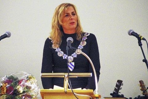 GJENVALG? Mange lurer på om ordfører Monica Vee Bratlie (H) i Hurum vil gå for gjenvalg.Arkivfoto