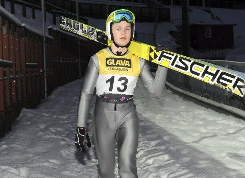PRESTERTE: Leif Torbjørn Næsvold gjorde en flott figur da han debuterte i Ungdoms-OL.