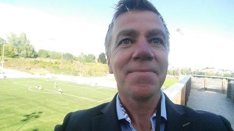 GLAD: Daglig leder i Asker Fotball, Arne Knoph er glad for at Asker-kampene skal vises på rha.no.