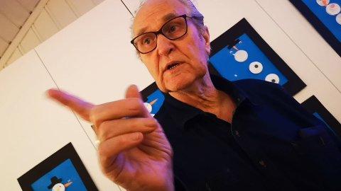 FOREDRAG: Lokalhistoriker Jan Erik Ask.