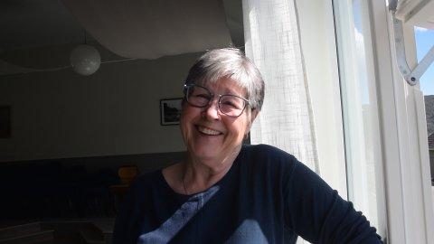 LEIER UT: Leder i Verket og Bogen Vel, Anne B. Eek, er fornøyd over at Fjordhuset nå kan leies av Gud og hvermann.