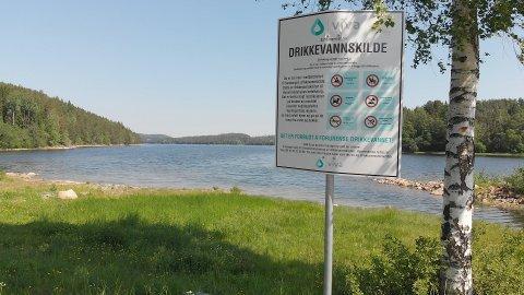 BAKTERIEFUNN: Det var ved Sandungen vannverk at det ble funnet små mengder med e.coli-bakterier.