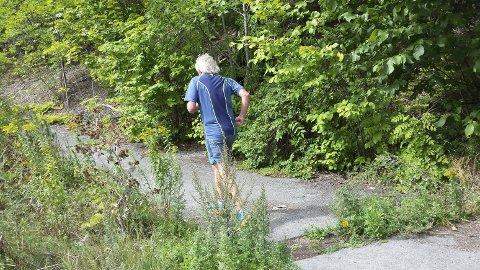 OBSERVERT: Rolf Mulen Karlsen seiler opp som solid favoritt til å slå redaktør Isaksen også i år. Han er observert på en rekke løp denne sommeren...