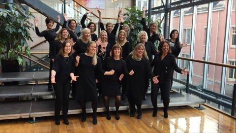 JULEKLARE: Sætre Vokalforum skal skape julestemning i Hurum kirke med to konserter lille julaften.