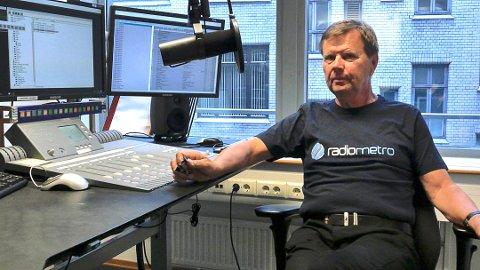 FEIL GRUNNLAG: Svein Larsen i Radio Metro mener Medietilsynet har vedtatt gebyret til Radio Hurum på feil grunnlag.