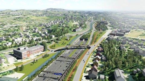 GRØNT LYS: Første etappe av utbyggingen av E18 er godkjent både i Stortinget og i Viken fylkeskommune.