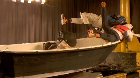 OBS: En ny test viser at bråstopp med båt i 20 knop kan være svært dramatisk – se video i bunnen av saken. Foto: Løftblikket.no