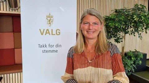 FORNØYD: Ordfører og valgstyrets leder, Lene Conradi, er godt fornøyd med gjennomføringen av valget i Asker.