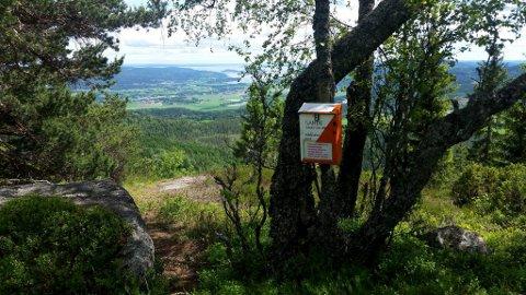 Naturopplevelse: Man må være forberedt på mye stigning opp til Munken, men belønningen er en fantastisk utsikt.