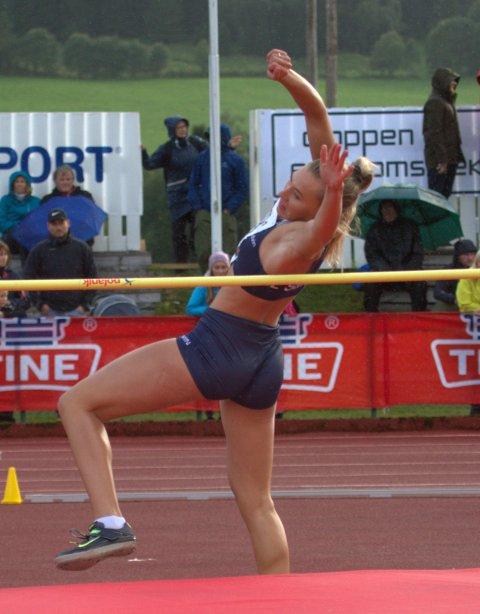 Elise Nedberg fra IL Sanvin tok sin første medalje i senior NM.