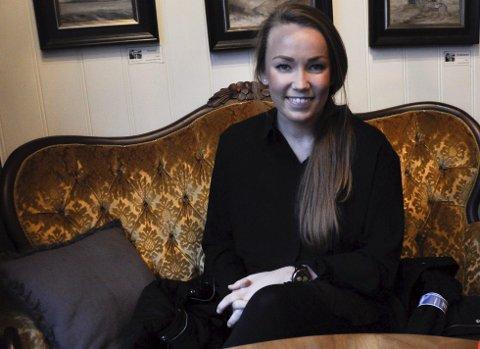 DRIVKRAFT: – Jeg har en visjon om å nå så langt jeg kan i alt jeg gjør. Det sier Kristine Masdal Aadne, som er én av tre kvinner som er valgt ut til  den landsomfattende Talentjakten. FOTO: BJØRN T. BRØSKE