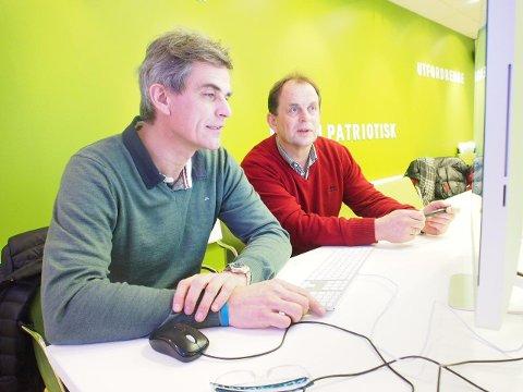 Bjørn Ole Gleditsch (H) fra Sandefjord og  Bjarne Sommerstad (Sp) fra Andebu svarer leserne.