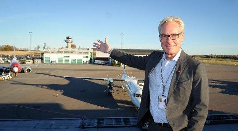 Potensiale: Lojaliteten til Torp er stor i det meste av Vestfold, men administrerende direktør Gisle Skansen mener de har et stort potensiale i Horten, Drammen og Buskerud. I februar foreslår han flere tiltak for å øke trafikken derfra. Arkivfoto: Knut Nordhagen