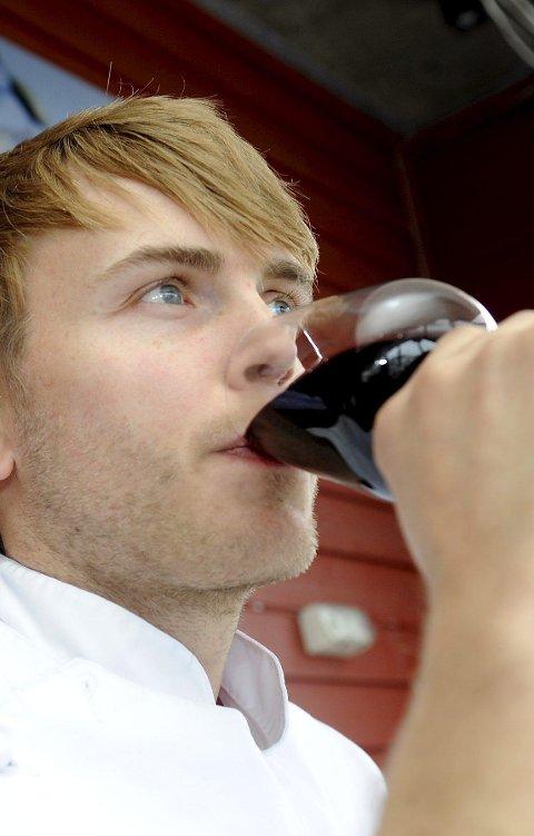 Kompanjong: Geir Skeie er Børge Brands kompanjong er mer enn gjennomsnittet interessert i vin.