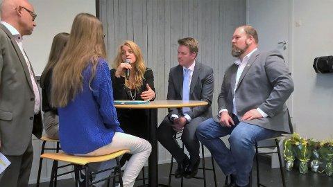 Hilde Frafjord Johnson, Anders Tyvand, Harald Lie