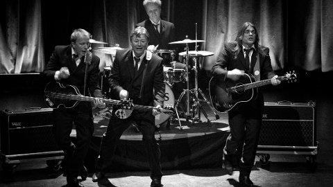 FØRER BEATLES-ARVEN VIDERE: Det Betales har holdt det gående siden 1976, og regnes som ett av verdens beste Beatles-hyllestband. (Pressefoto)
