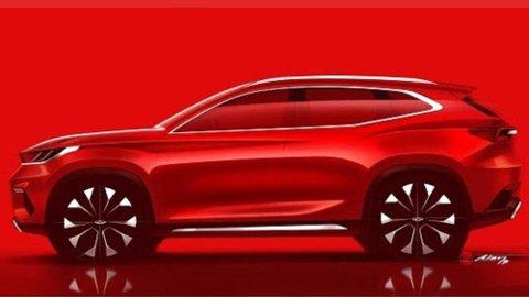 NY: Cherys nye SUV kommer med tre drivlinjer. Hybrid, ladbar hybrid og ren elbil.