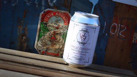 MED I ØLTEST: «Star of Betlehem» er en øl lagret på eikefat, som tidligere er brukt til linjeakevitt. Nå er ølen testet av Ølakademiet og VG.
