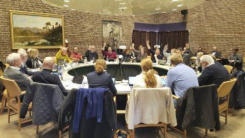 INGEN BESLUTNING: Ingen forslag, heller ikke rådmannens, fikk flertall i onsdagens møte i hovedutvalget for miljø- og plansaker. Nå går saken for endelig avgjørelse til formannskapet 22. januar.