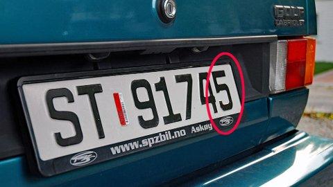 Det siste sifferet i bilens registreringsnummer har til nå angitt når bilen skal til EU-kontroll. Det blir det slutt på nå.