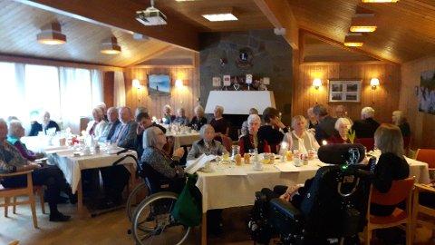 Nyttårsfest på Andebu Pensjonistsenter.