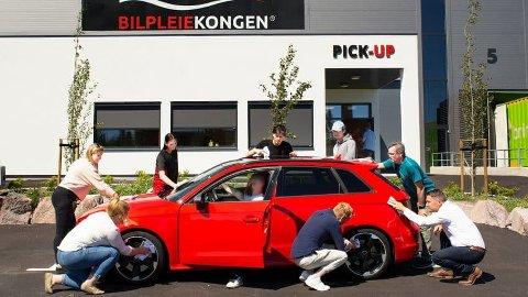 SNUOPERASJON: Nå har Bilpleiekongen lagt 2018 bak seg og etter er suksessfullt 2019 er de på full fart inn i det nye året.