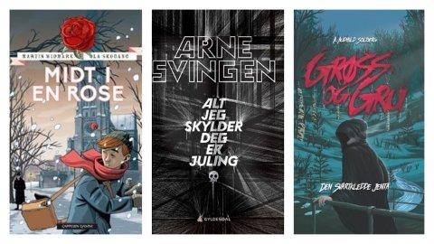 BOKTIPS: I uke 9 anbefaler Heidi Delås ved Sandefjordbibliotekene disse bøkene for barn og ungdom.
