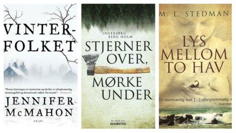 BOKTIPS: Sandefjordbibliotekene anbefaler flere spennende bøker i uke 11.