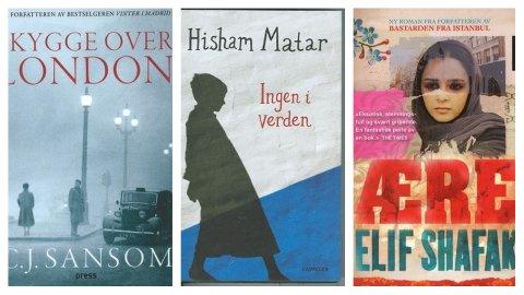 Boktips i uke 13 fra Sandefjordsbibliotekene