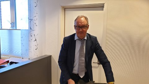 FORSVARER: Ole Petter Breistøl sier han ikke kjenner til om den siktede mannen har noen relasjon til offeret.