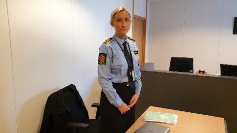 AKTOR: Politiadvokat Ida Charlotte Einhausen var aktor under mandagens fengslingsmøte i Tønsberg.