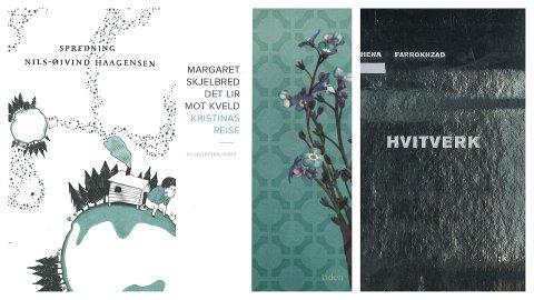 Sandefjord bibliotekene anbefaler tre bøker med poesi.