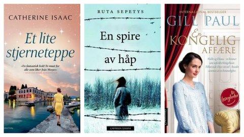 Bokomtaler fra Sandefjordbibliotekene i uke 18.