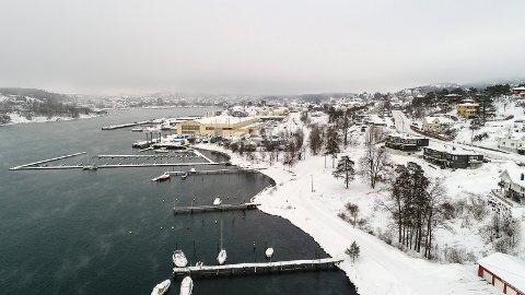 FRAMNÆS: I dette området har A/S Thor Dahl store utbyggingsplaner. Nå krever rådmannen økt tilgjengelighet til sjøen. Det samme gjelder Ranvik Brygge.