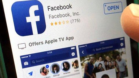 PROBLEMER: Facebook, Instagram og WhatsApp opplever problemer onsdag.