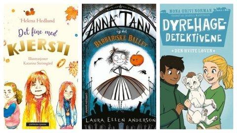 BOKTIPS: Sandefjordbibliotekene anbefaler barnebøker til høstferien.